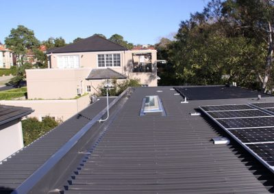 Colourbond Roof Replacement with Skylight