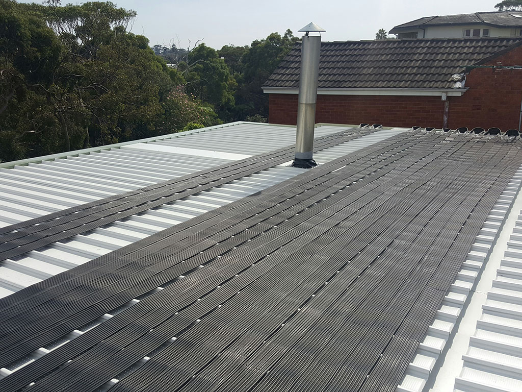 Three Storey Metal Roof Replacement